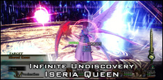Infinite Undiscovery - Iseria Queen Boss Battle
