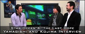 Star Ocean 4: The Last Hope - Yoshinori Yamagishi and Hajime Kojima Interview