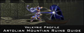 Valkyrie Profile - Artolian Mountian Ruins Dungeon Guide