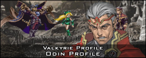 Valkyrie Profile - Odin Character Profile